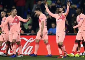 Laporan Pertandingan: Getafe 1-2 Barcelona
