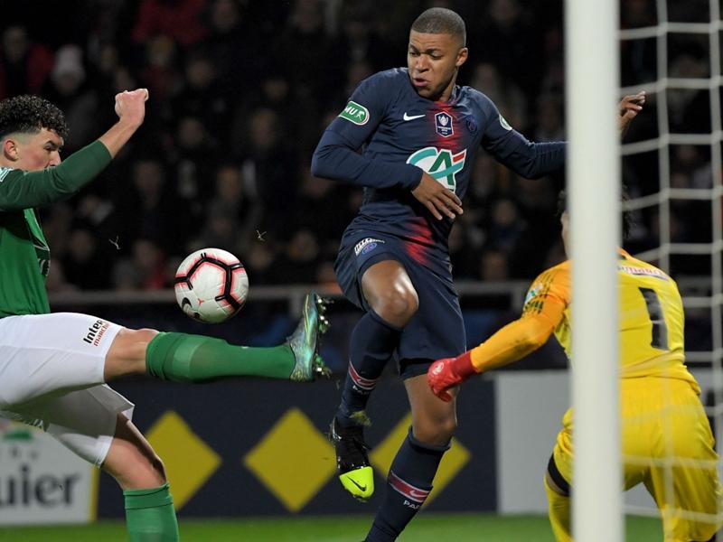 Pontivy GSI 0 Paris Saint-Germain 4: Coupe de France holders cruise through