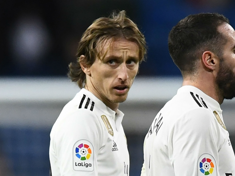 'We can't keep cocking up like this' - Modric bemoans Real Madrid's woes