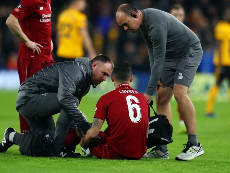 Klopp confirms hamstring injury for Liverpool defender Lovren