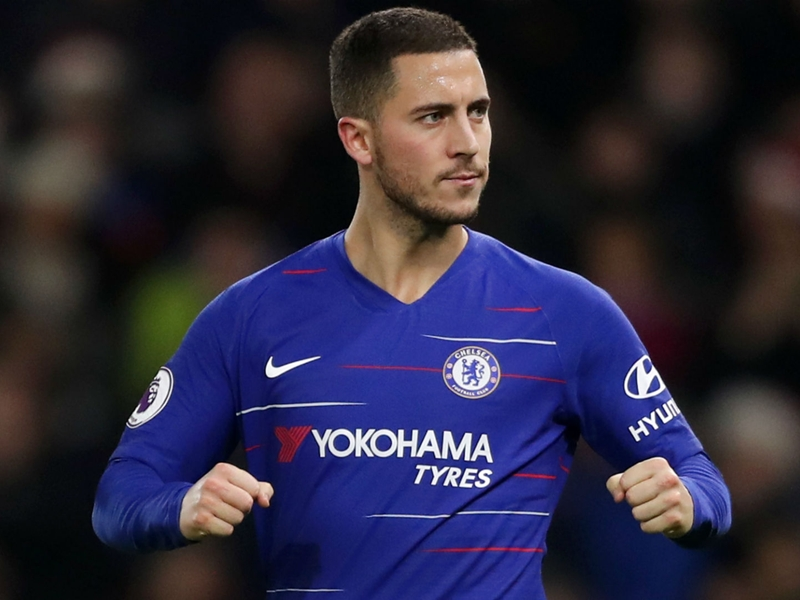 Hazard urges fans to behave during Chelsea-Tottenham clash