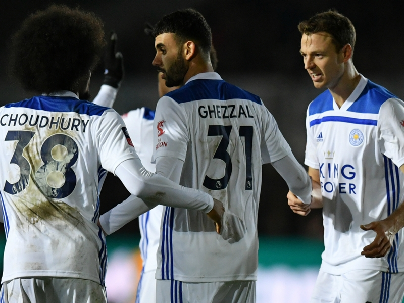Rachid Ghezzal nominated for Leicester City's Goal of the Month prize