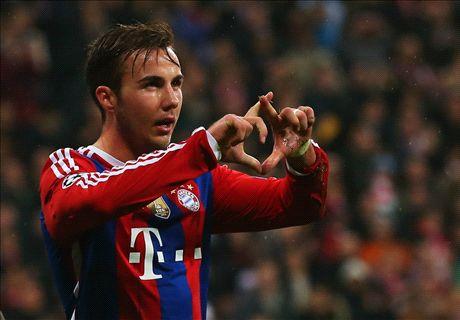 FC Bayern: Bernat und Götze glänzen