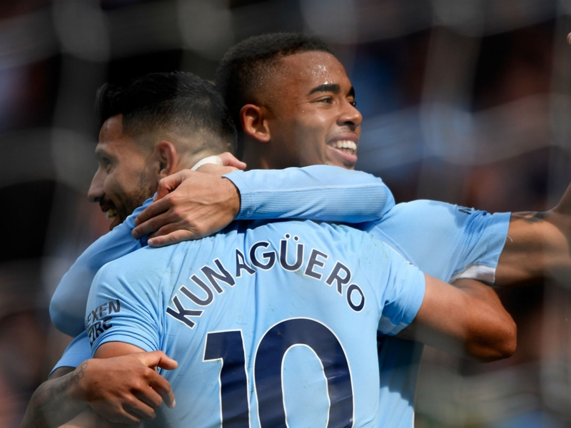 Jesus has to fight with Aguero - Guardiola challenges misfiring striker