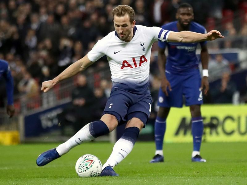 Kane makes yet more Tottenham goalscoring history with Chelsea penalty