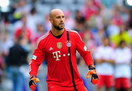 Reina: I want Neuer for B d'O, but CR7 will win