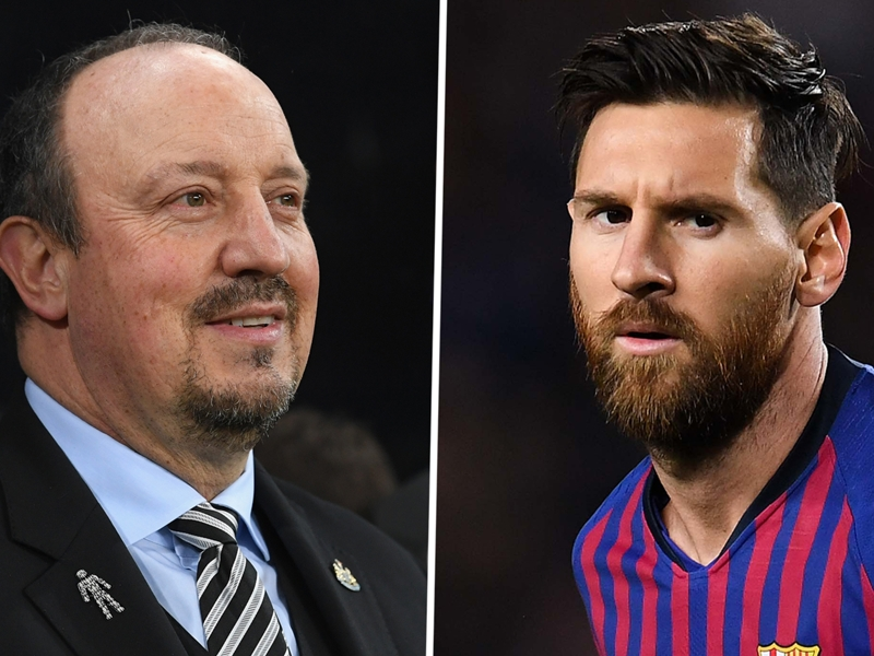 'No Messi means I have to rotate' - Benitez defends Newcastle changes