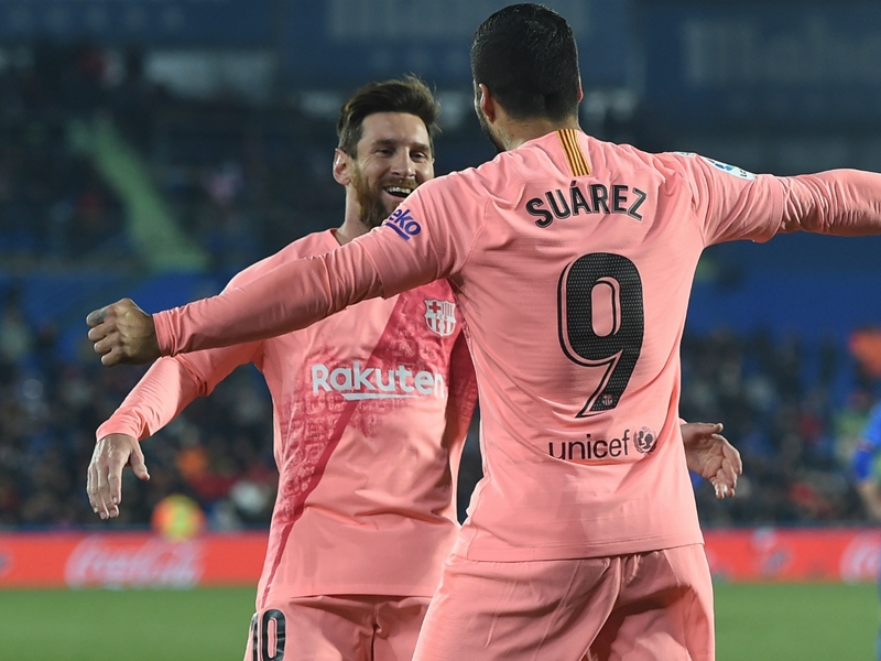 Messi & Suarez ruled out of Barcelona's Copa del Rey tie at Levante