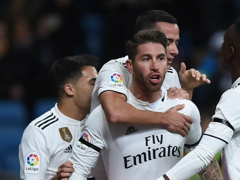 Ramos scores 100th career goal in Real Madrid Cup tie