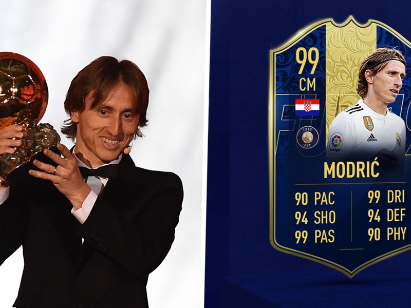 Is Team of the Year Modric the best FIFA Ultimate Team card in history?