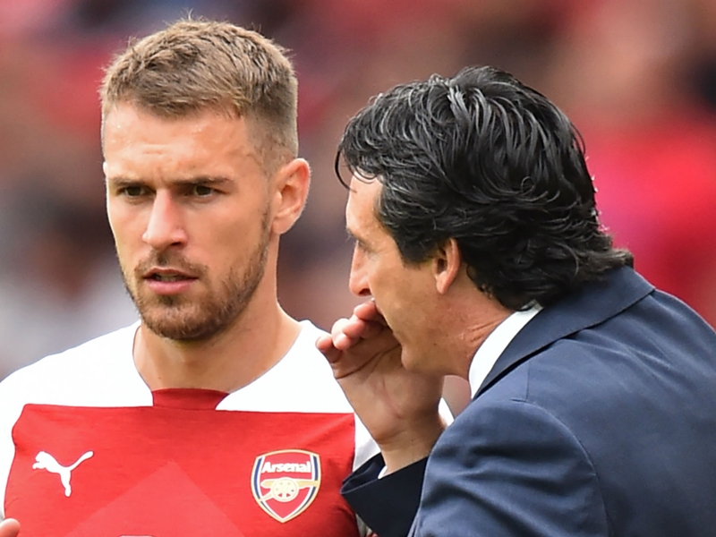 'Ramsey exit is entirely Emery's call' - Arsenal happy to lose £40m player, says Groves
