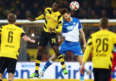 Bundesliga: Dortmund 1-0 Hoffenheim