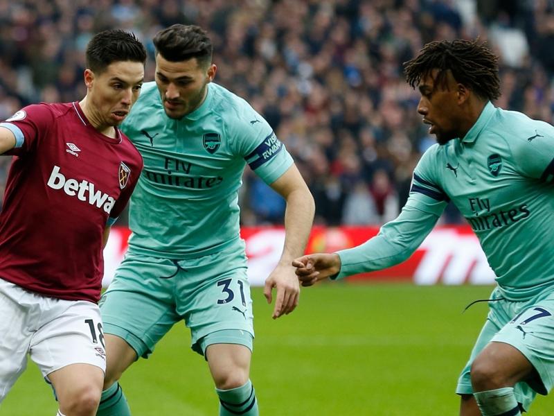 West-Ham - Arsenal (1-0) : Les Hammers jouent un vilain tour aux Gunners