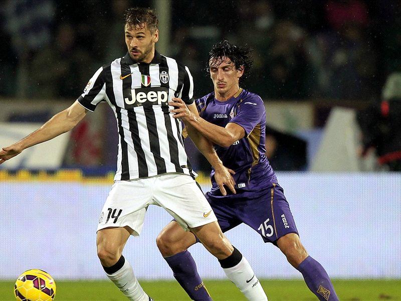 Fernando Llorente Stefan Savic Fiorentina Juventus Serie A 05122014