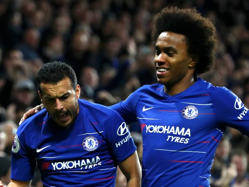 Pedro & Willian must continue to lighten the load on Hazard's shoulders