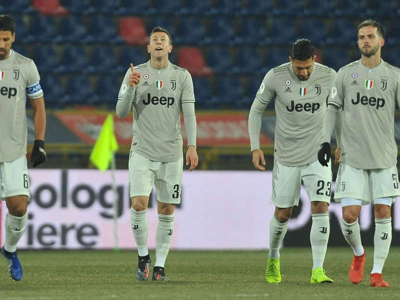 Bologna 0 Juventus 2: