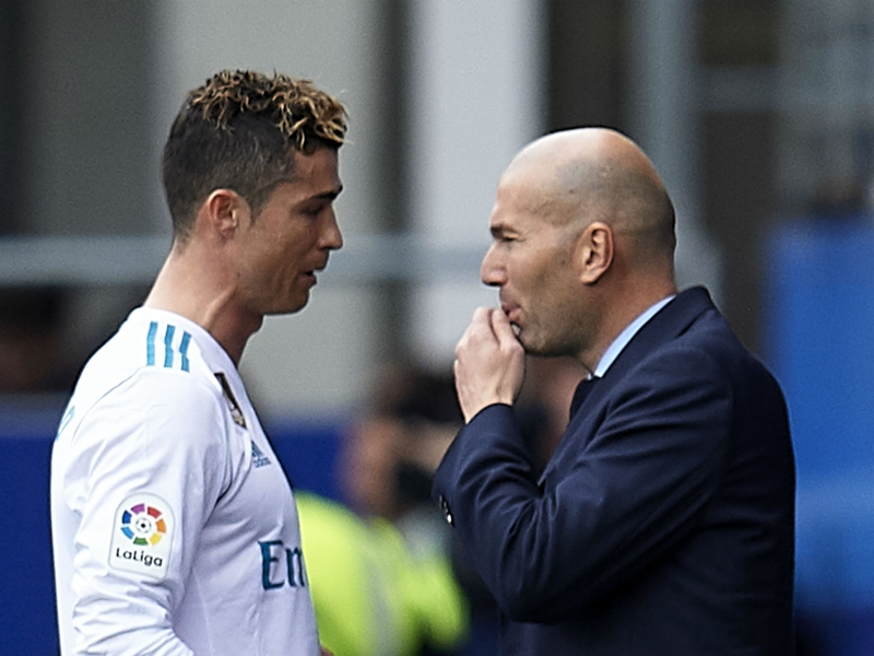 'Zidane right to leave after Ronaldo sale' - Ex-Madrid president hints at power struggle