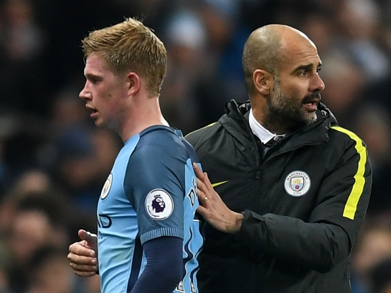 Guardiola: If De Bruyne has a problem, he knows where I am