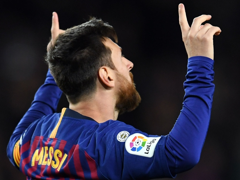 Messi makes history with 400th La Liga goal