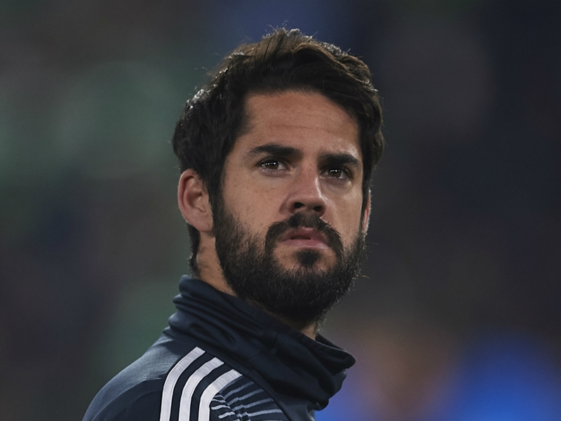 Isco omission against Betis was 'nothing personal', says Madrid's Solari