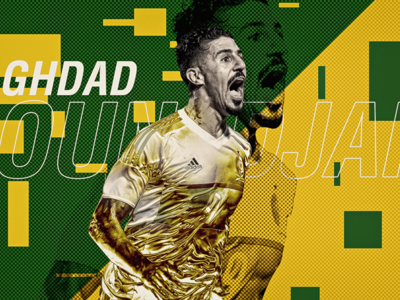 Baghdad Bounedjah élu meilleur joueur algérien 2018