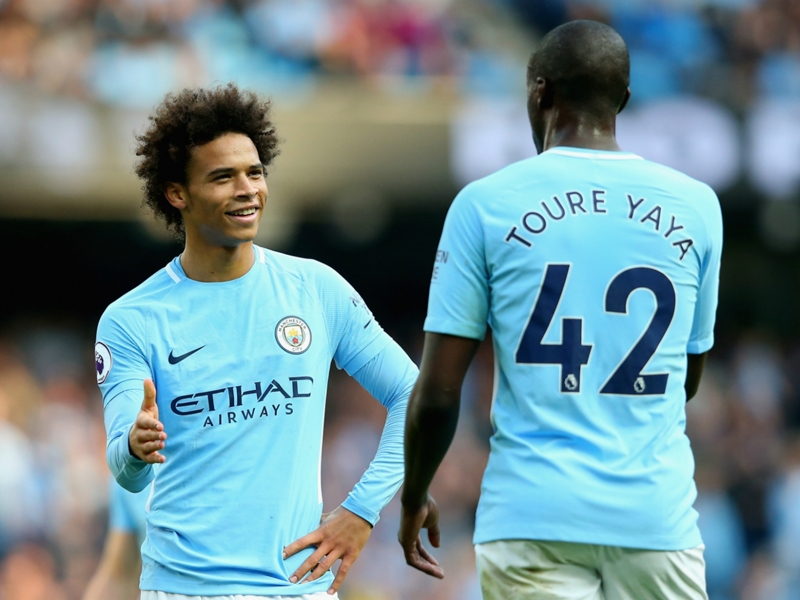 Toure: Sane is going to be the best of the best