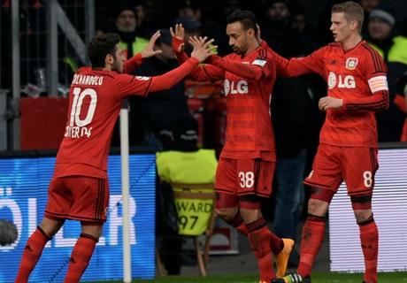 REVIEW: Leverkusen Menanjak, Bremen Tenggelam