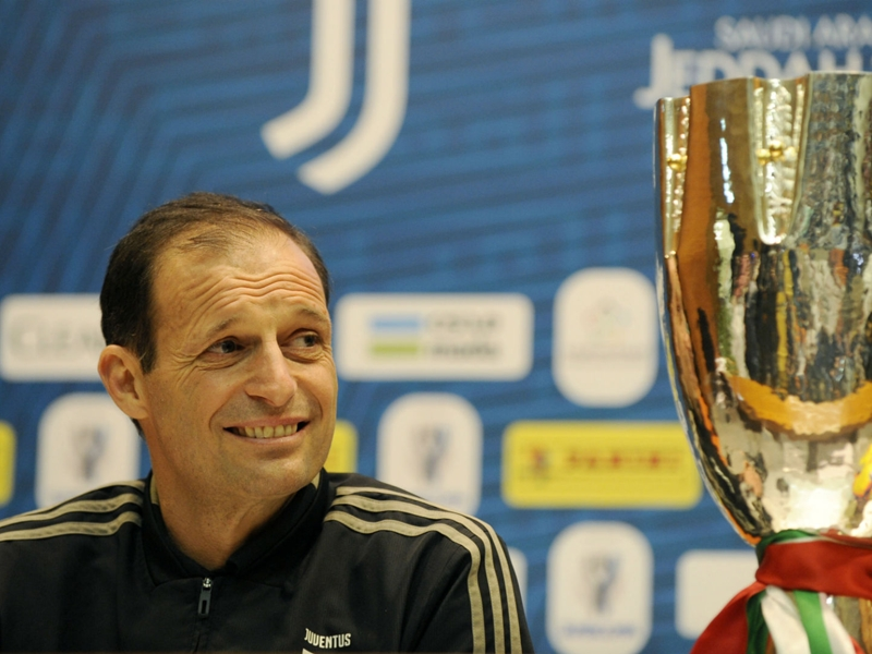 Allegri: Supercoppa clash practice for Champions League knockouts