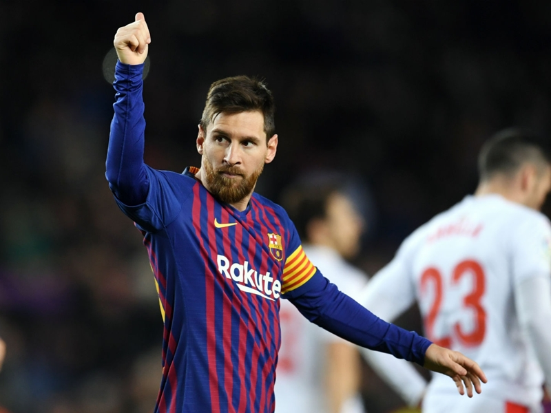 Messi hungry for more after reaching 400 La Liga goals
