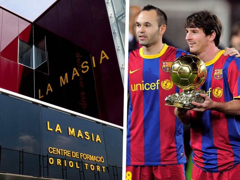 What is La Masia? Barcelona's famous youth academy & the star players it produced