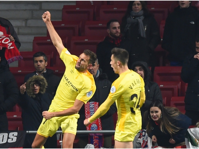 Atletico Madrid 3 Girona 3 (4-4 agg): Simeone's side out on away goals