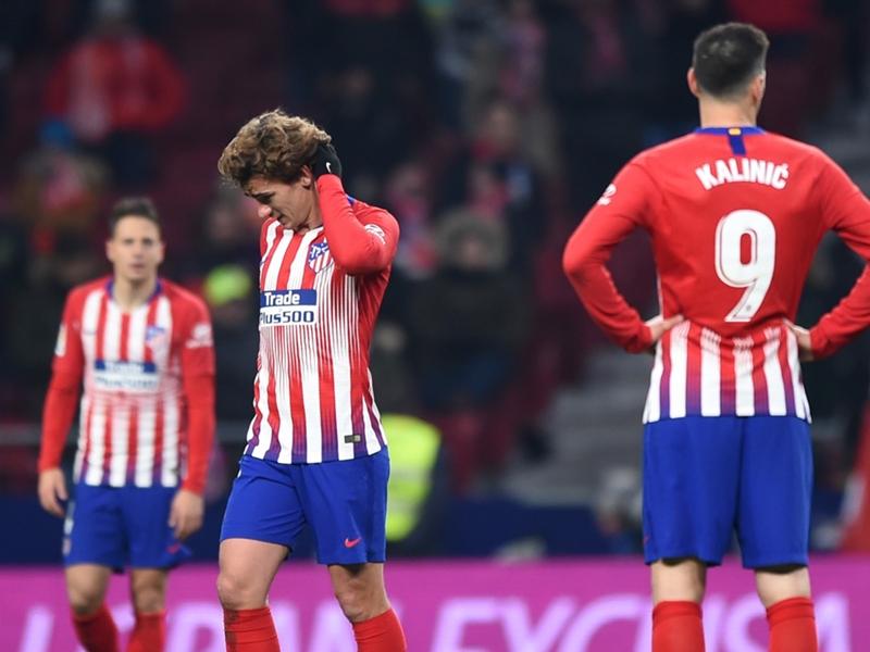 L'Atletico Madrid sorti de la coupe