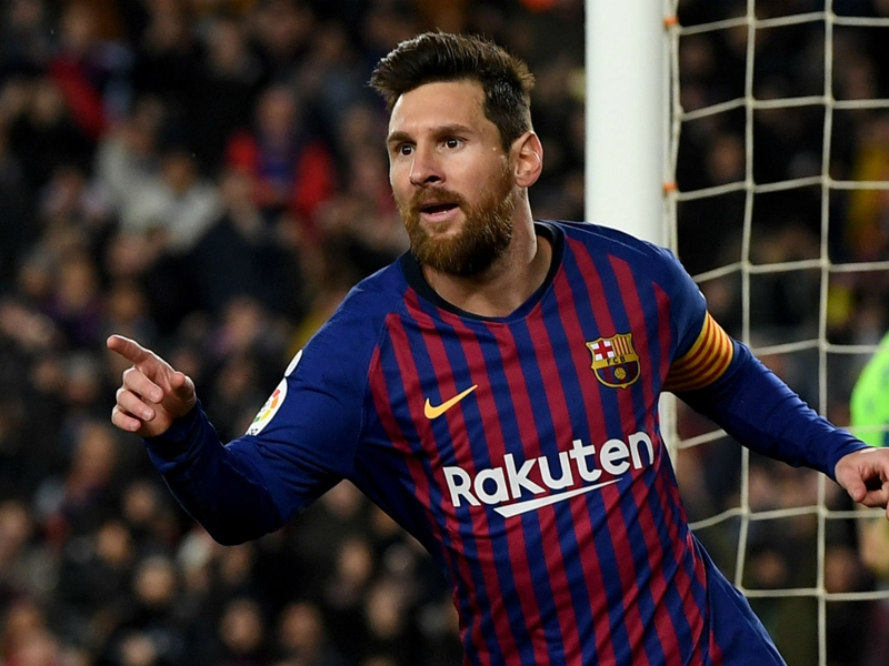Dembele and Messi see Barcelona past Levante in Copa del Rey
