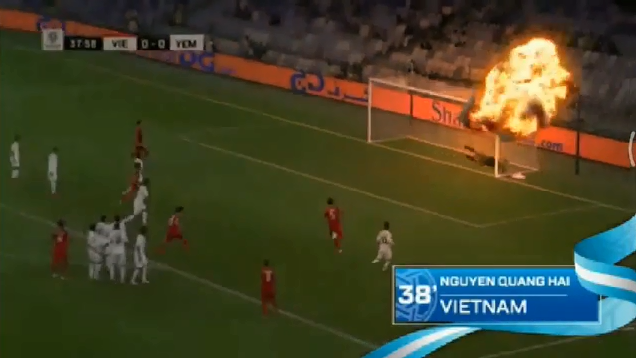 AFC forced to delete insensitive Yemen explosion video