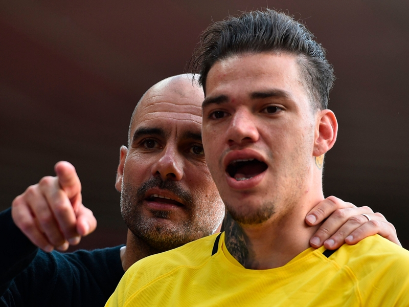 A bull and a matador - Ederson is the world's most unique goalkeeper