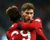 Leon Goretzka celebrates scoring for Bayern Munich