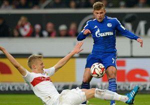 Zwei Saisontore in 14 Bundesliga-Einsätzen: Maximilian Meyer (blaues Trikot)