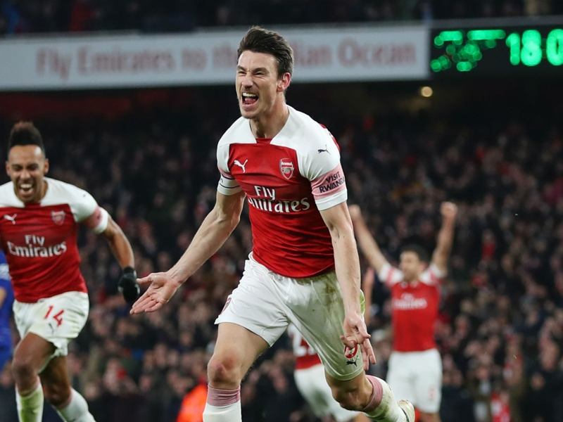 Arsenal's fighting spirit in Chelsea triumph was 'amazing', says Koscielny