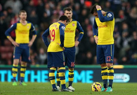 Arsenal embarrassed by Stoke again