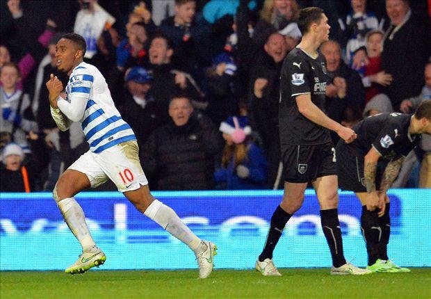 QPR 2-0 Burnley: Fer & Austin seal vital Rangers win