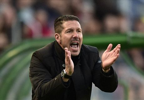 Simeone elogia postura do Atleti