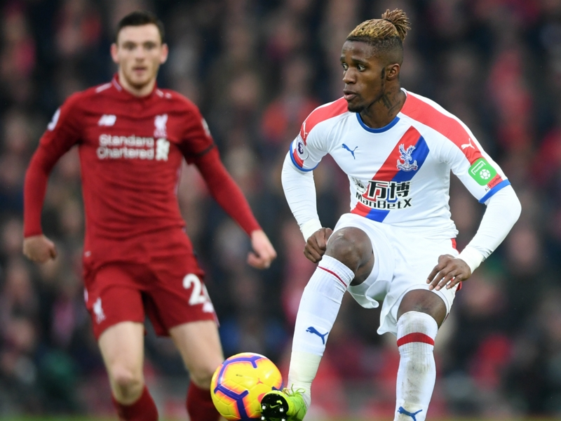 'Crystal Palace need to tighten up', urges Wilfried Zaha