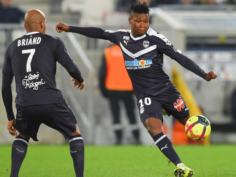 In-form Samuel Kalu earns high praise from Bordeaux coach Eric Bedouet