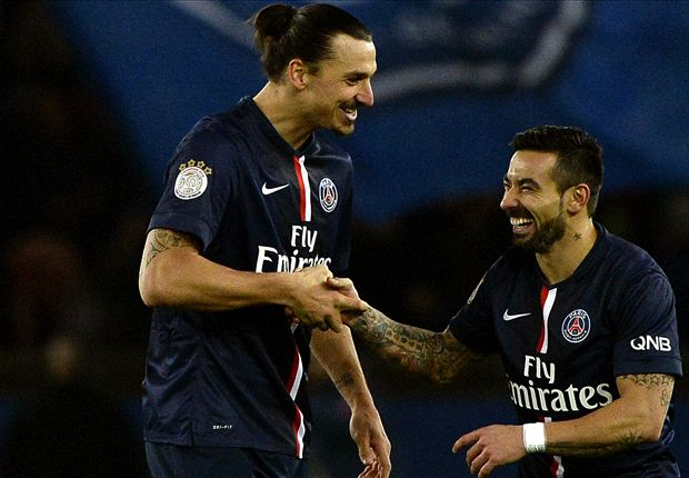 Paris Saint-Germain 2-1 Nantes: Ibrahimovic at the double as champions go top