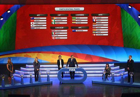 Listos los grupos para Canadá 2015