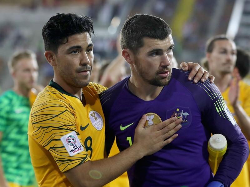 Australia 0 Uzbekistan 0 (aet, 4-2 on penalties): Ryan heroics see holders hobble onwards
