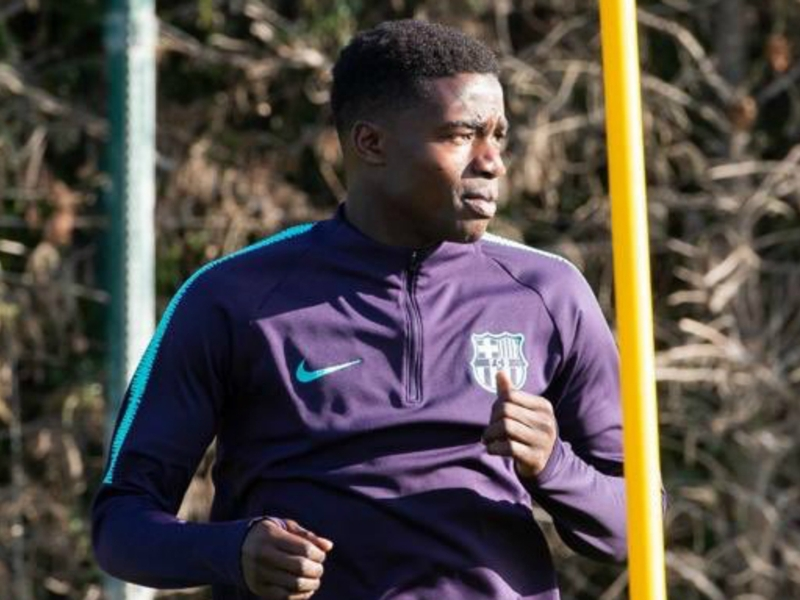 Apologetic Moussa Wague cites alleged racist chants for aggressive behaviour in Barcelona defeat