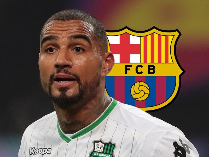 Video: Barcelona sign Kevin-Prince Boateng