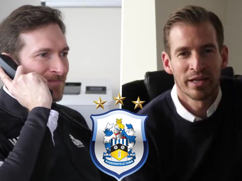 'I'm Martin from Wakefield!' - Viral sensation makes comic appearance in Huddersfield's Siewert announcement video