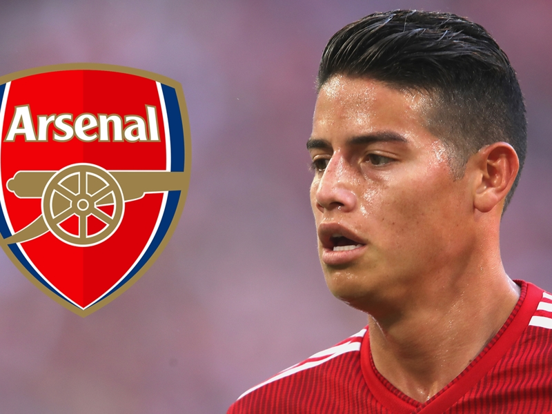 James is a mix of Fabregas and Isco and the perfect No. 10 choice for Arsenal - Petit